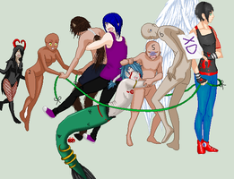 .::CLOSED : Mythicual creatures collab ::. by sonxfanchara