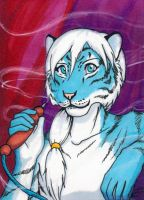Sketch card Bowtie by AokiBengal