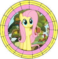 Stained Glass Fluttershy by Fluttershy70