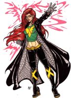 Jean Grey Summers by CrimsonArtz