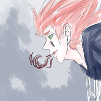 coloured sketchy axel by SkyDreamer12