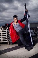 Dante - DmC Cosplay by Leon Chiro ( Nephilim ) by LeonChiroCosplayArt