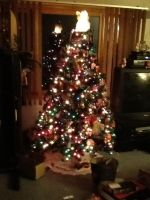 My Christmas tree low quality picture by minecraft1113