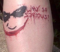 Joker Tattoo by Red-Corpse-Bey