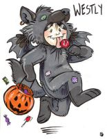 Westly Halloween Badge by thornwolf