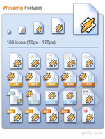xpAlto Winamp Icons by graywz
