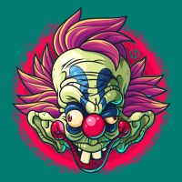 Killer Clown by ArtisticDyslexia