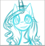 Princess Luna's new manestyle 8 WIP by katkakakao