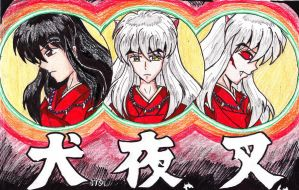 InuYasha by DogDemonAbridged12