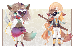 [CLOSED] ADOPT AUCTION 94 - Serendipiter COLLAB by Piffi-adoptables
