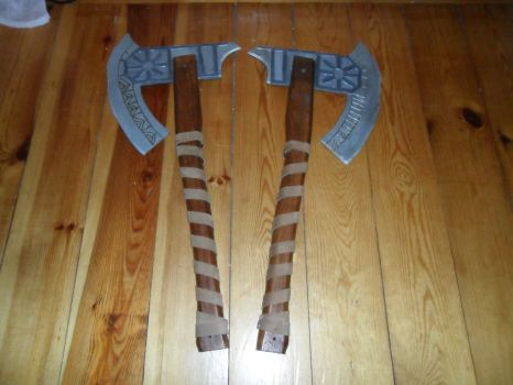 League of Legends Olaf Axe's 4 by jn6