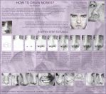 Tutorial: how to draw noses? by Ilojleen