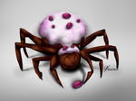 Muffin Spider by TheRockyDoo