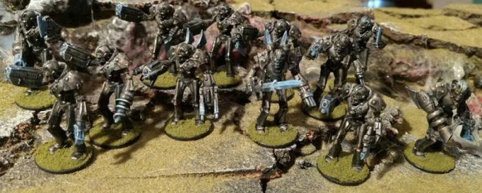 28mm First Ones Eidolon Troopers by Spielorjh