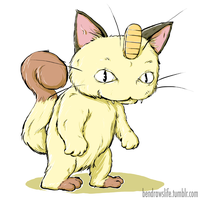Meowth by bensigas