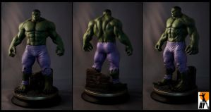Hulk by AYsculpture