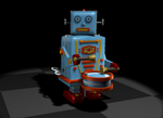 Toy Robot by lmkiture