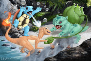 Pokemon - Starter Fight by SimonGangl