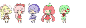 food adopts~closed by Chibii-chii