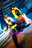 Patrol Squad - Batgirl and Robin by Love-Joker