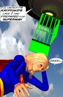 Brainiac's Trap for Supergirl 3 by CaptainZammo
