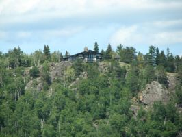 House on the Cliff by calebrw