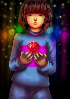 Determination (Frisk) by LC-Holy