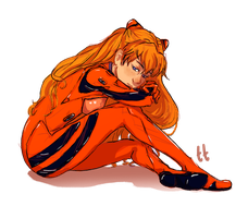 Asuka by timeis-tickin
