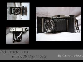 Old camera stock pack by Cat-in-the-Stock