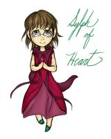 Sylph of Heart (comm) by 10yrsy