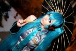 Classic Miku Hatsune Frost Con 2015 #18 by Lightning--Baron