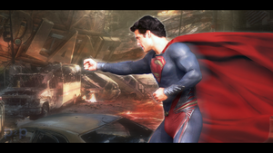 Man of Steel - Henry Cavill by P2Pproductions