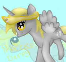 Princess Derpy Hooves by PrincessDerpyMuffins