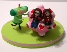 Katamari Damacy Cake Topper by Vamppy