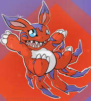 Elecmon - Day 1169 by Seracfrost