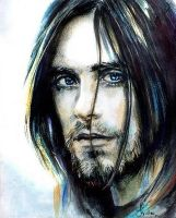 Jared Leto by KristineUlanowsky