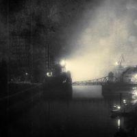 Sinister Landscapes - The Industrial Port by bliXX-a