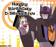 Happy BirthDay D-structive by JinoSan