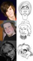 Caricatures by ComX-1