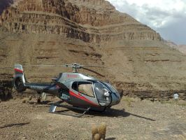 Grand Canyon by air by EZReader111