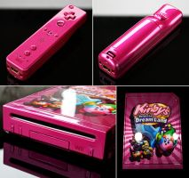 custom Kirbys return to dream land Nintendo wii by Zoki64