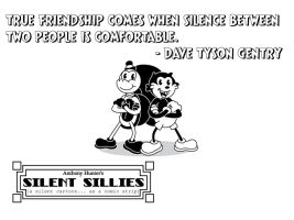 Silent Sillies Wallpaper PC-Friends by JK-Antwon