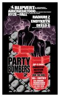 party bombers color flyer B by reactionarypdx