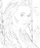 Summer Glau Terminator SCC Sketch by Mick81