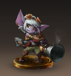 21-1 Tristana by Skence