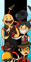 TEAM FORTRESS 2 TIME by loneyqua