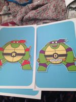 Chubby raph and donnie by TMNTTransformer1995