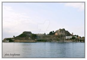 OLD FORTRESS OF CORFU by liviugherman