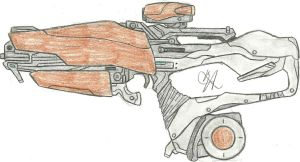 The War's Madness Exotic Scout Rifle by Chigiri16