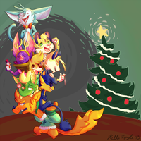 A Zoony Christmas by Cheese-is-tasty